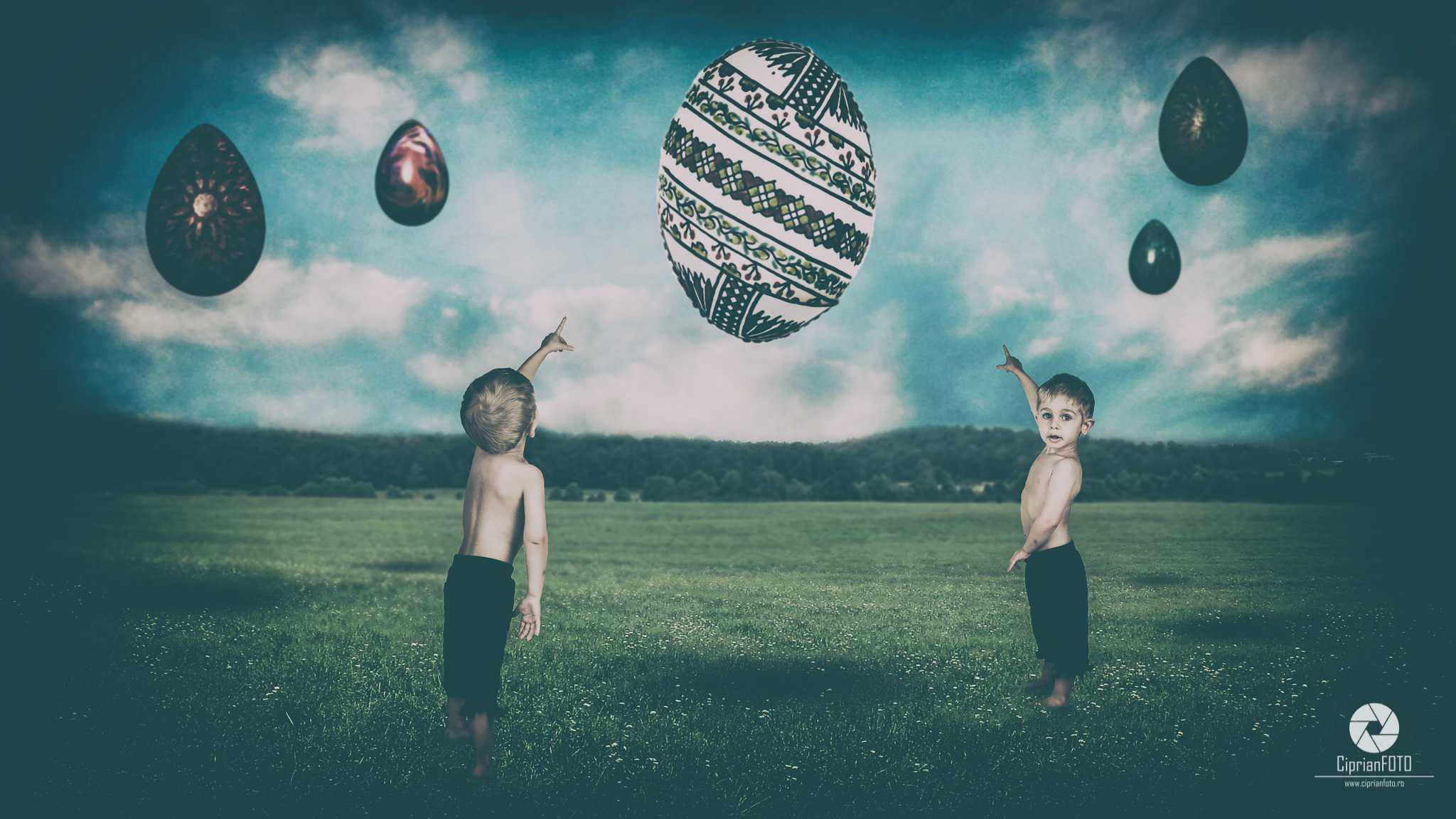Easter Eggs, Photoshop Manipulation Tutorial, CiprianFOTO