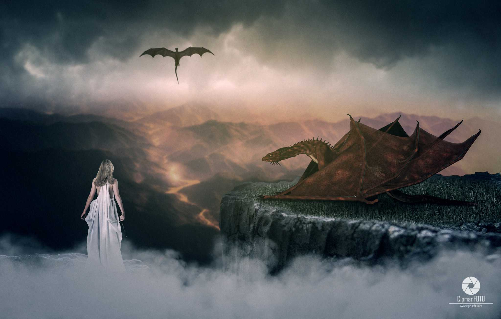 Kill The Dragon, Photoshop Manipulation Tutorial, CiprianFOTO