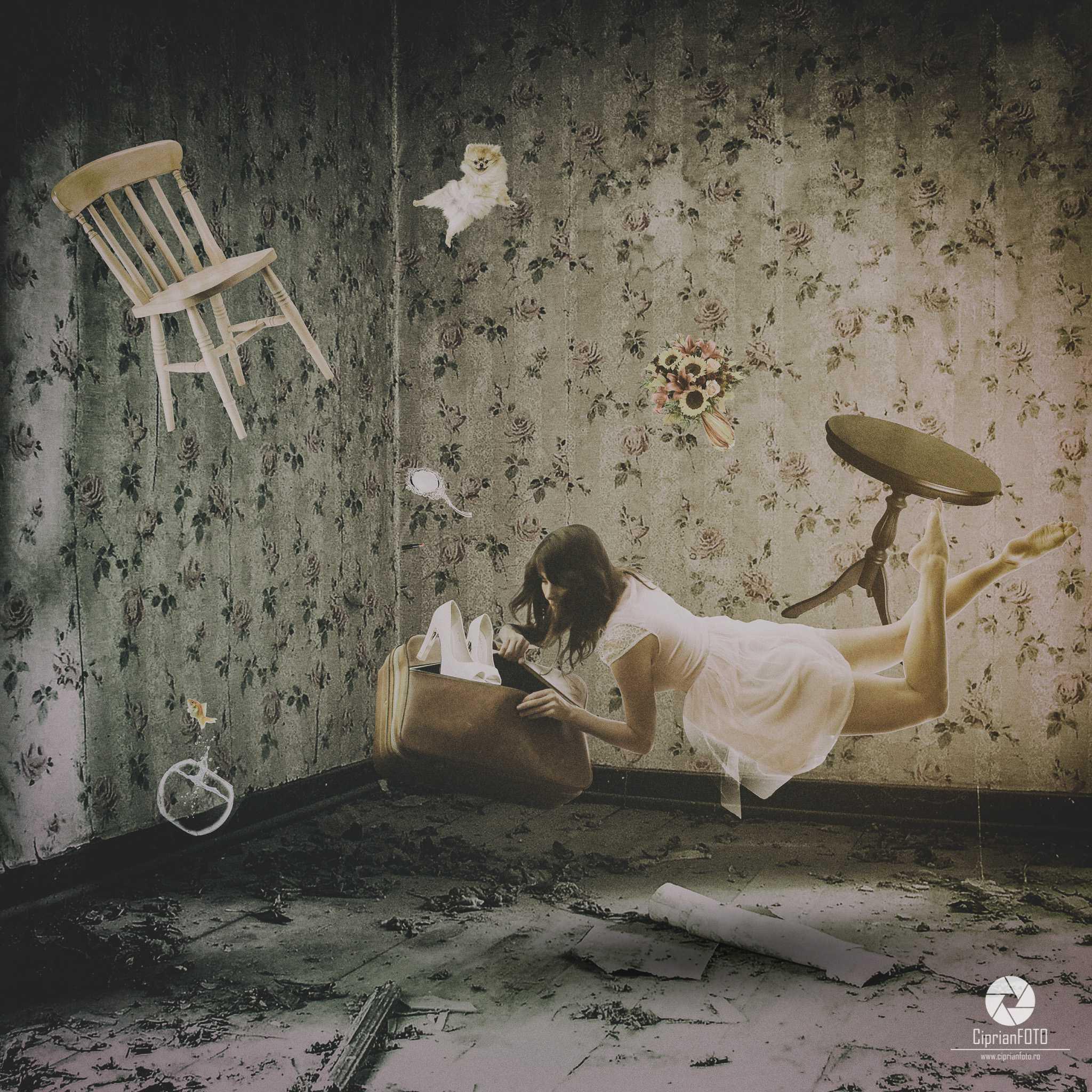 Levitation, Photoshop Manipulation Tutorial, CiprianFOTO