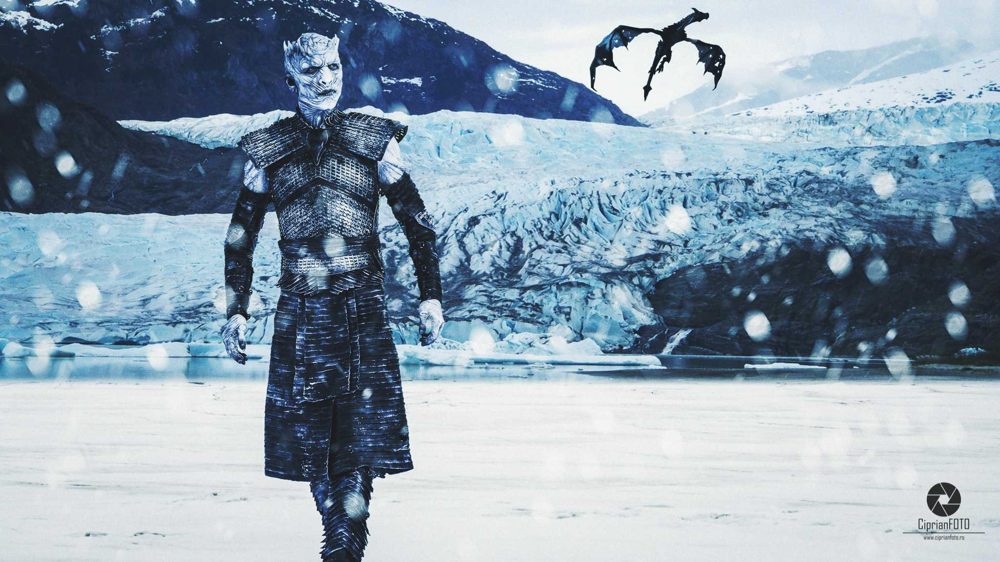 Night King, Photoshop Manipulation Tutorial, CiprianFOTO