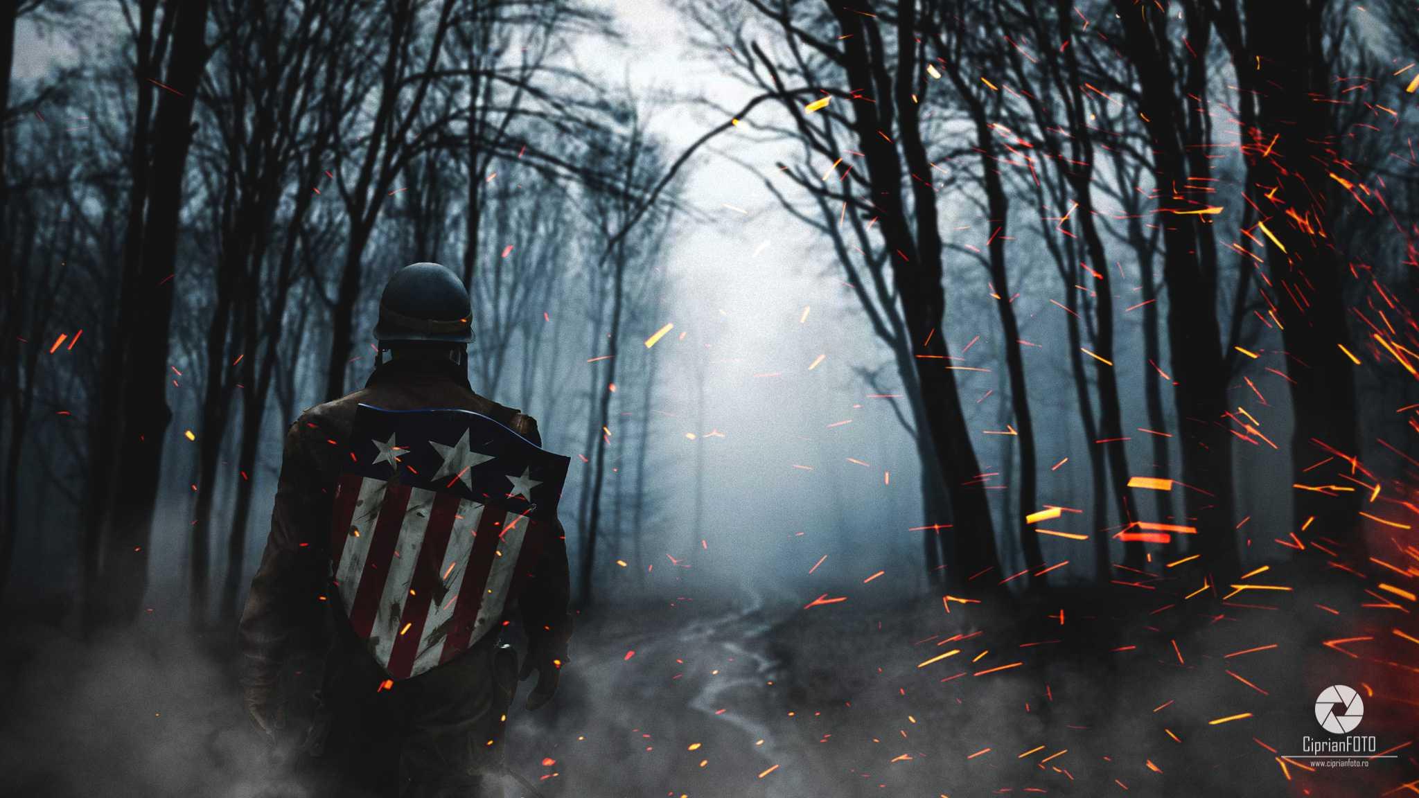 The War Is Over, Photoshop Manipulation Tutorial, CiprianFOTO