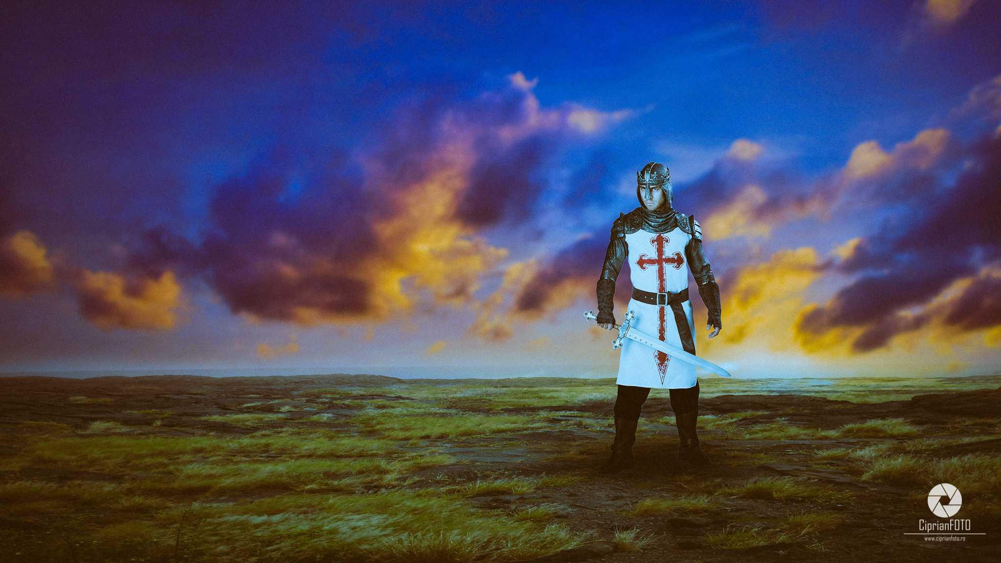The Templar, Photoshop Manipulation Tutorial, CiprianFOTO