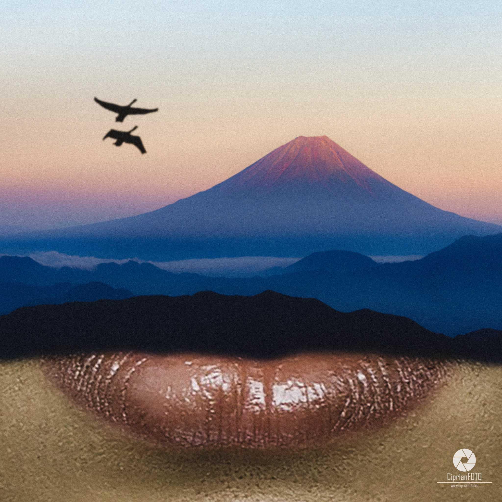 Landscape Mouth, Photoshop Manipulation Tutorial, CiprianFOTO