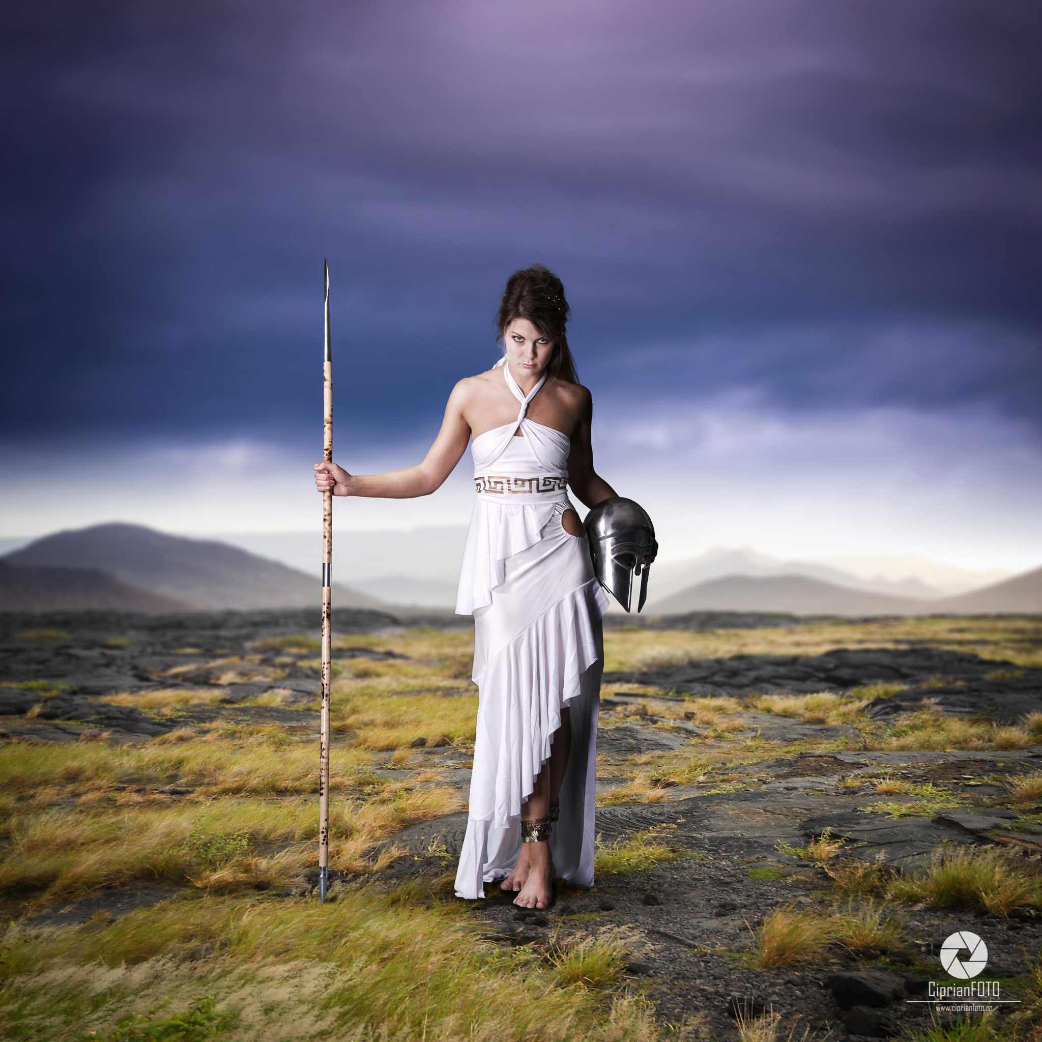 Greek Goddess, Photoshop Manipulation Tutorial, CiprianFOTO