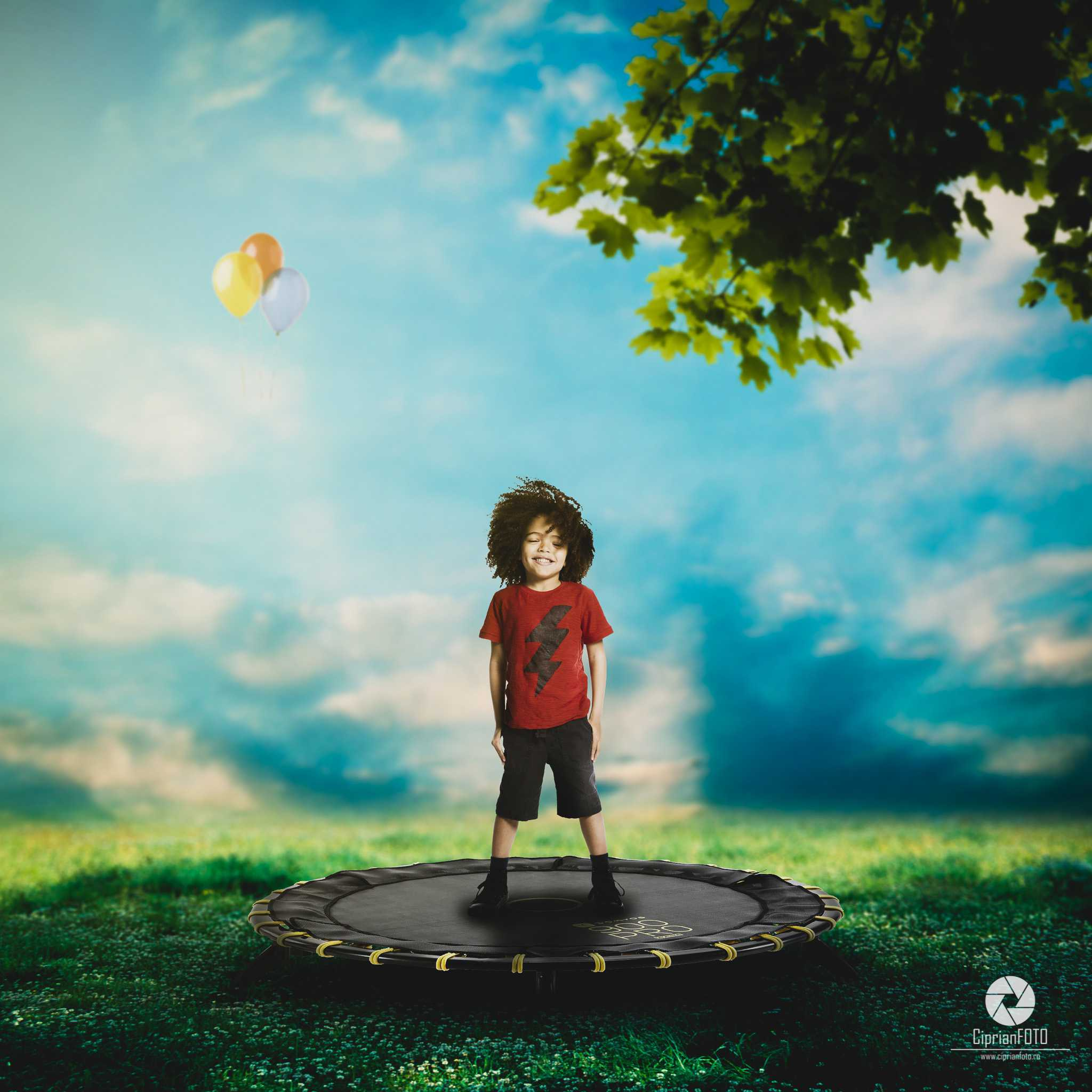 Children's Day, Photoshop Manipulation Tutorial, CiprianFOTO