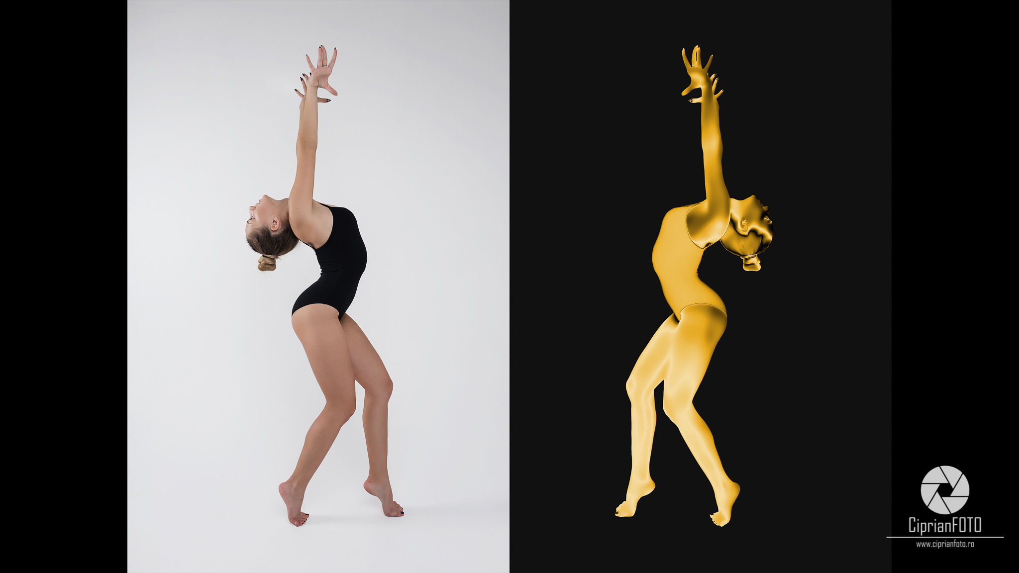 How To Turn, Photography, Into, Gold Statue, In Adobe Photoshop, Photoshop CC 2020 Tutorial, CiprianFOTO Ciprian FOTO, Photoshop Tutorial Ideas